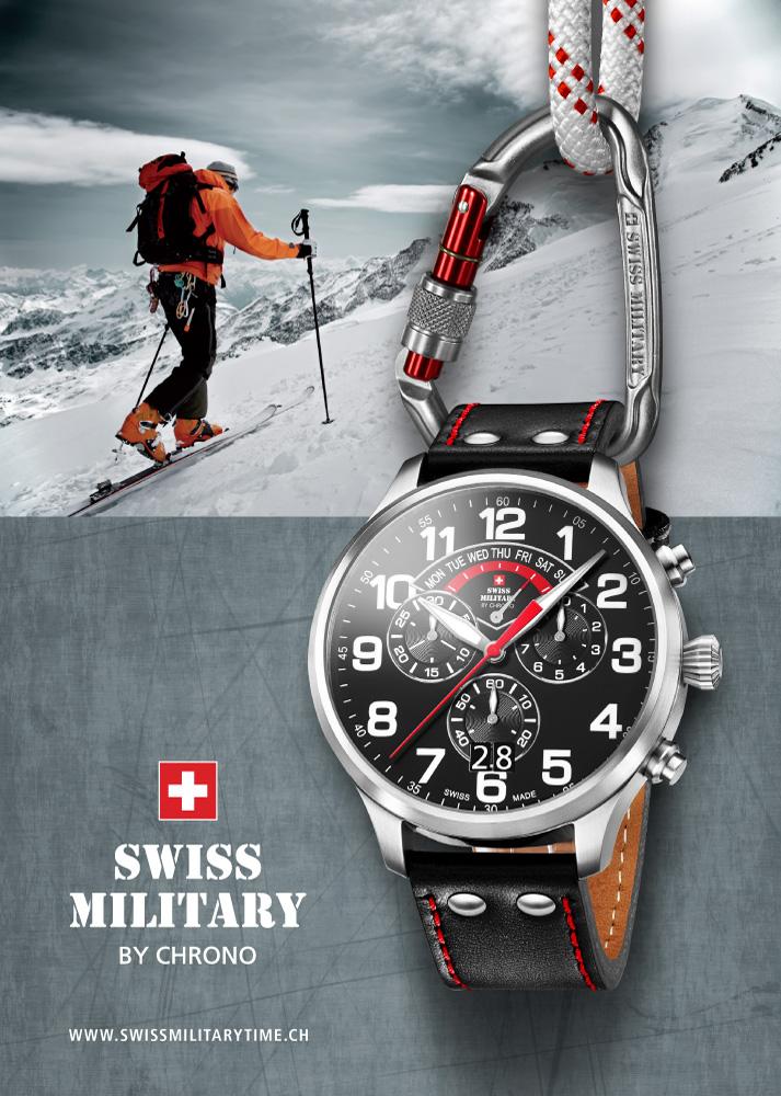 Swiss Military karórák - a hétköznapok hőseinek  b06dfdf7ad